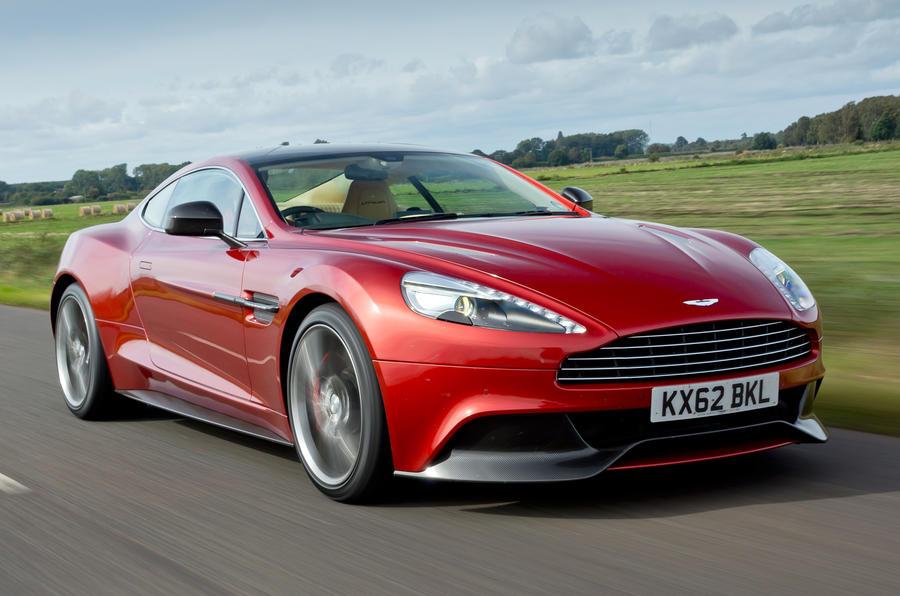 The dramatic Aston Martin Vanquish