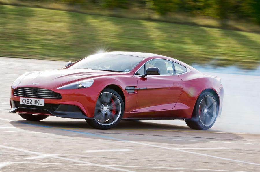 Four star Aston Martin Vanquish