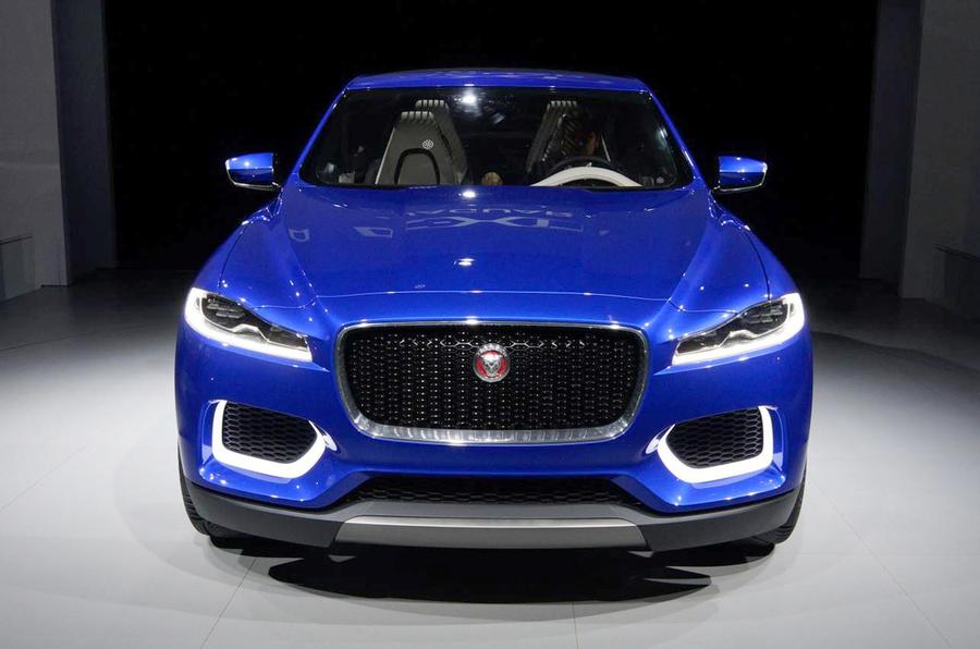 Official: Jaguar C-X17 SUV revealed