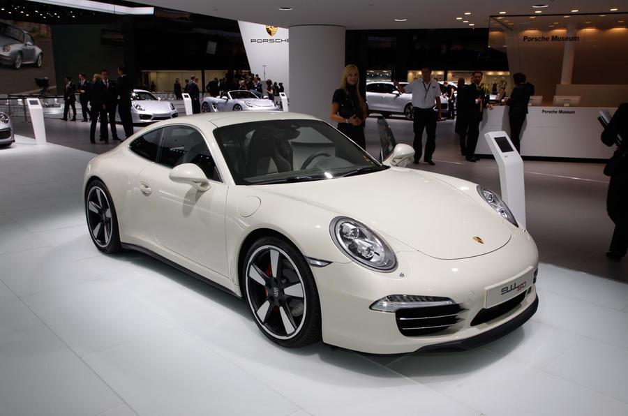 Frankfurt motor show 2013: Porsche 911 50 Years Edition