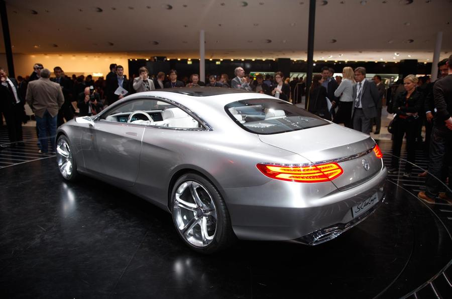 Mercedes-Benz S-class coupe shown
