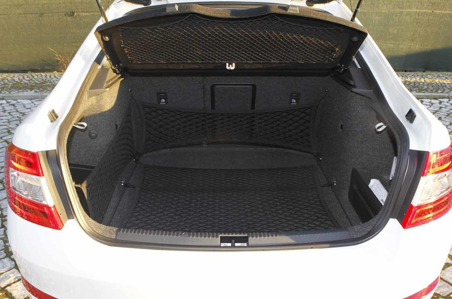 Skoda Octavia boot space