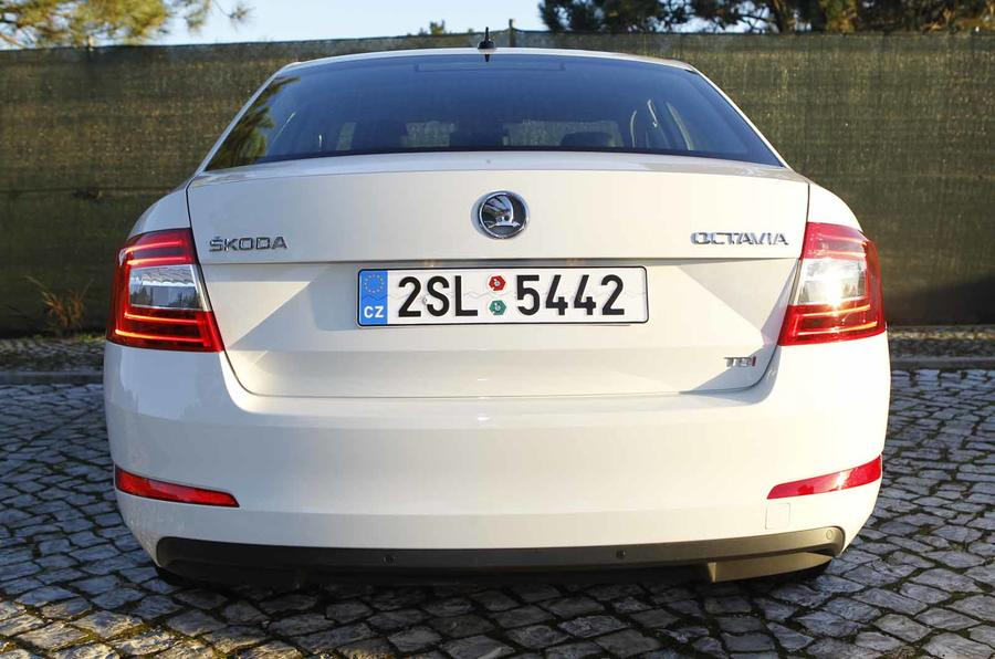 Skoda Octavia rear end