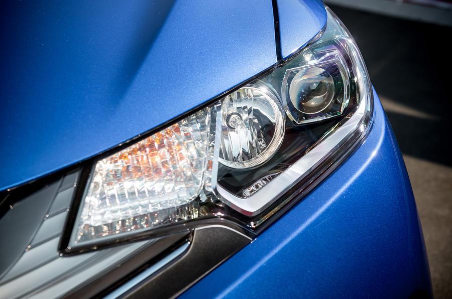 Honda Jazz xenon headlights