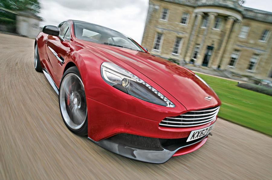 The evolved Aston Martin Vanquish