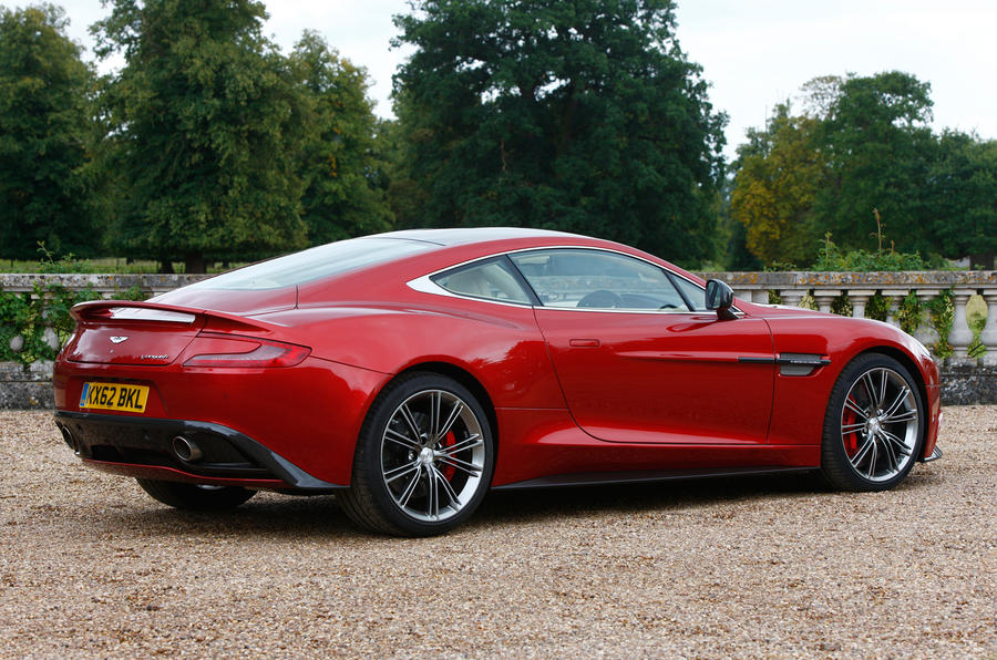 The One-77-inspired Aston Martin Vanquish