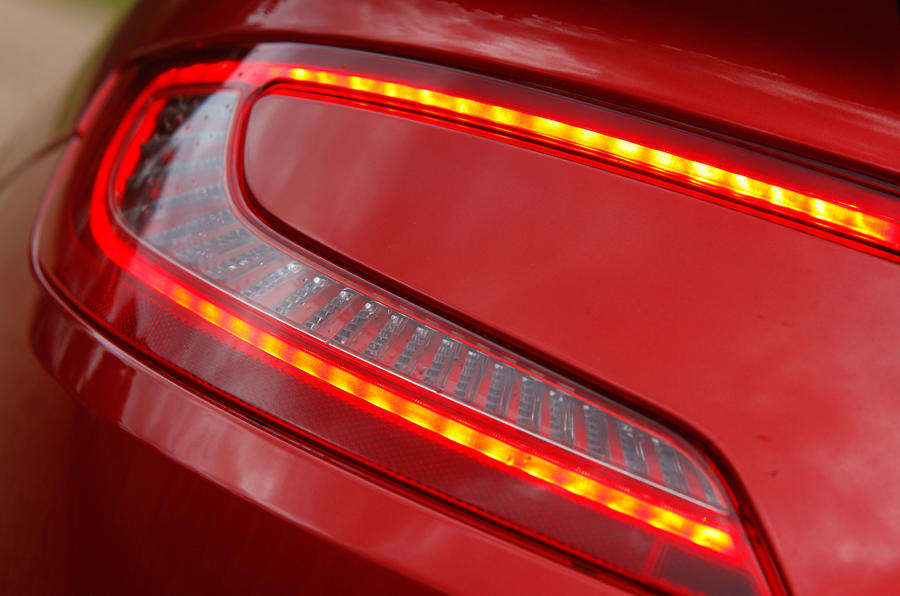 Rear Aston Martin Vanquish lights