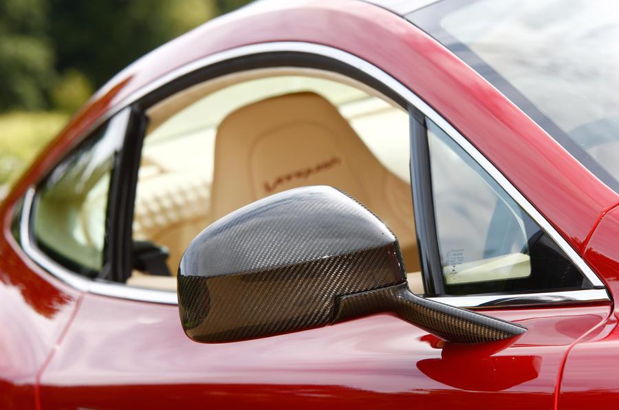 Aston Martin Vanquish driver's window