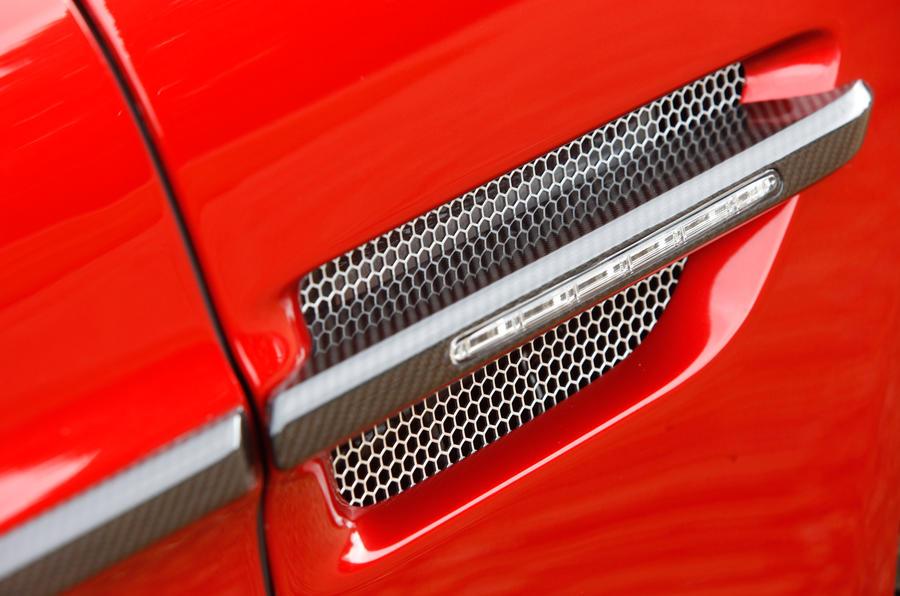 Signature Aston Martin Vanquish vents