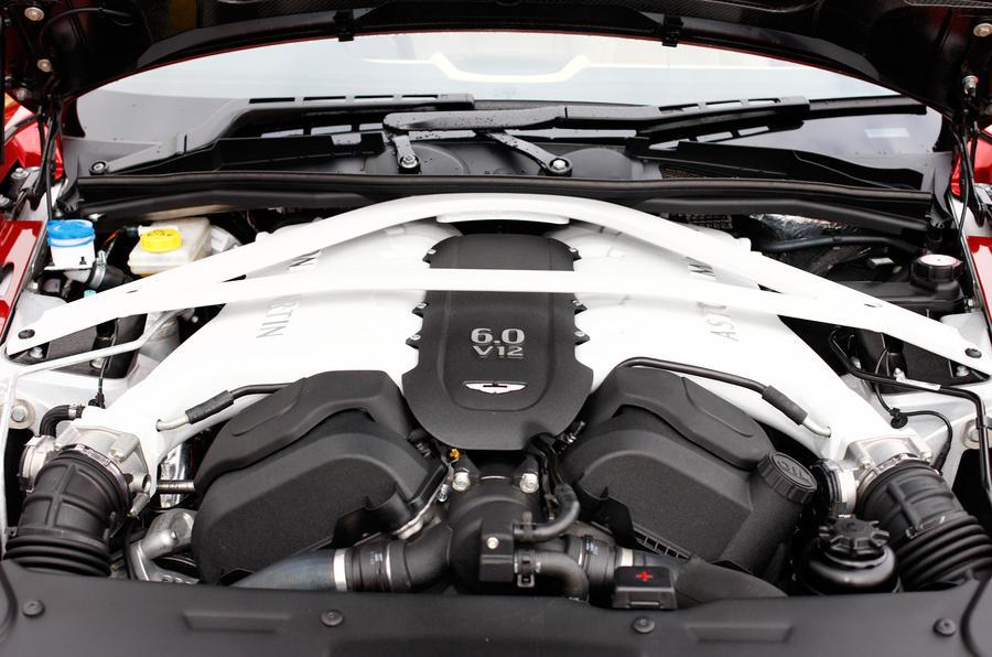 Aston Martin Vanquish V12 engine