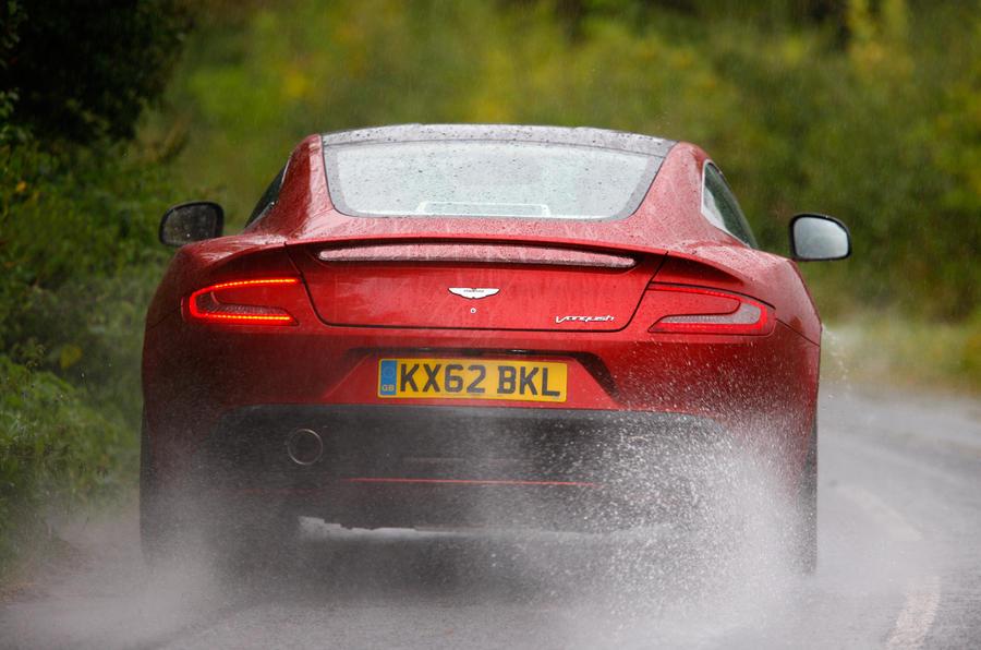 Aston Martin Vanquish rear end