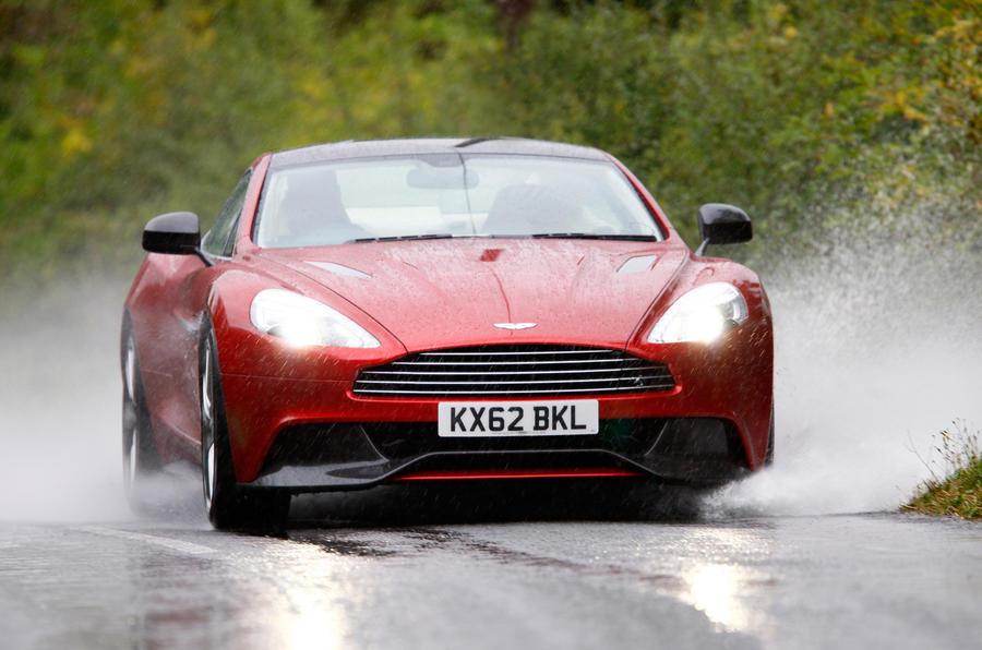 Aluminium-construct Aston Martin Vanquish