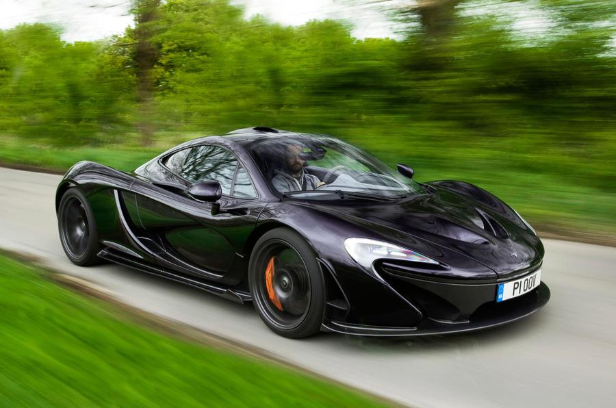 McLaren P1 front quarter