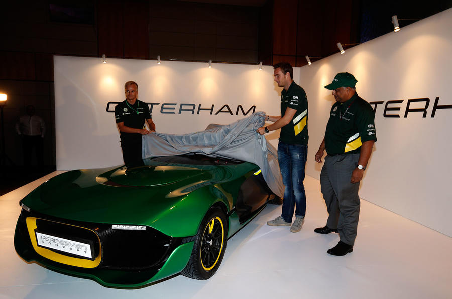 Caterham targets ambitious brand expansion