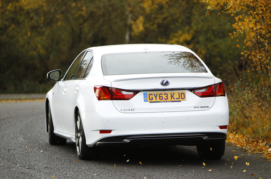 Lexus GS300h first drive review
