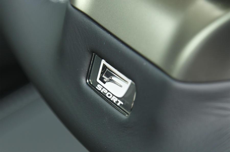 Lexus GS300h F-Sport badge