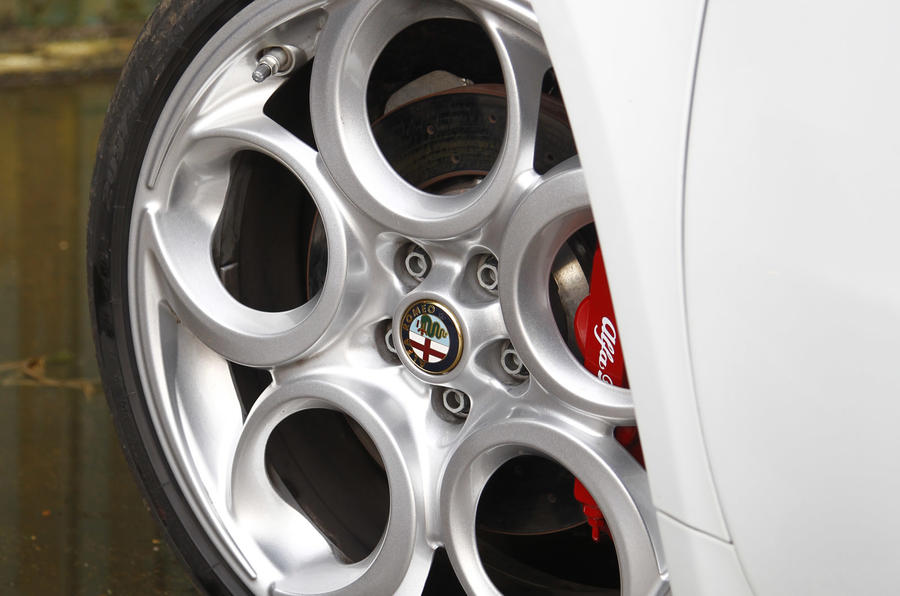 Alfa Romeo 4C alloy wheels