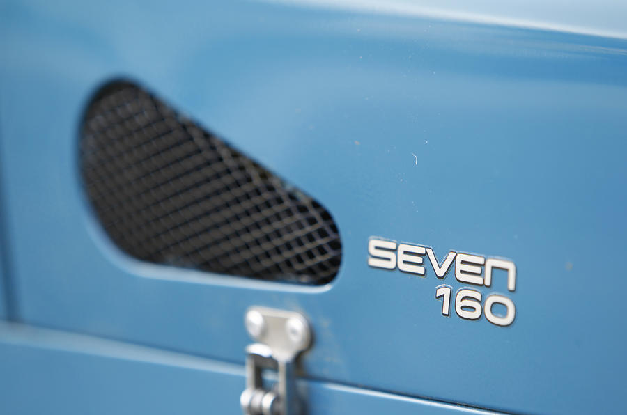 Caterham Seven 160 badging