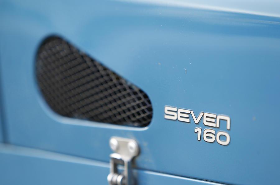Caterham Seven 160 badging