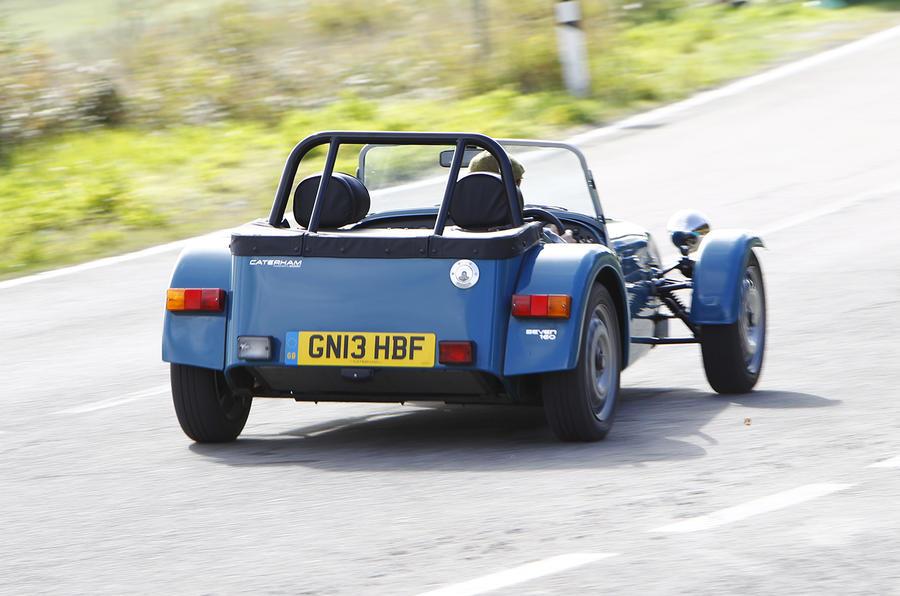 Caterham 160 rear quarter
