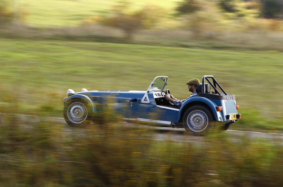 Modest Caterham Seven 160