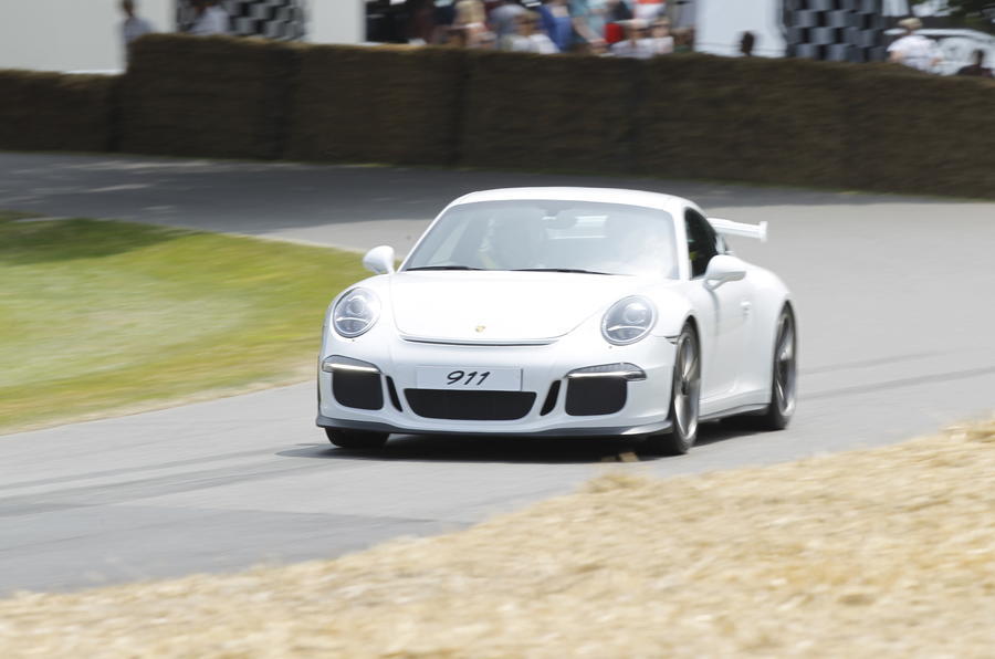 Goodwood Festival of Speed: Porsche 911 GT3 UK debut