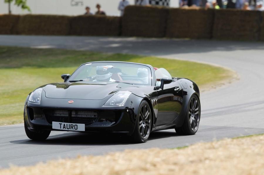 Tauro Spider V8 makes its Goodwood debut