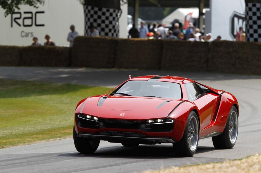 Lamborghini Gallardo-based ItalDesign Giugiaro Parcour in action