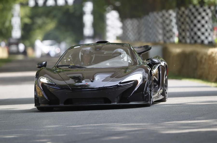 McLaren P1 to lead Goodwood Festival of Speed supercar run