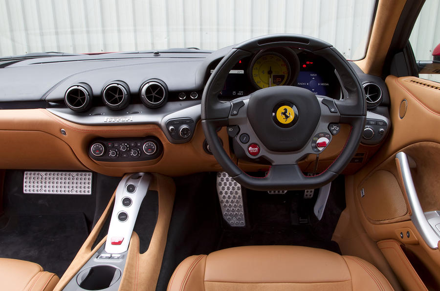 Ferrari F12 Berlinetta dashboard