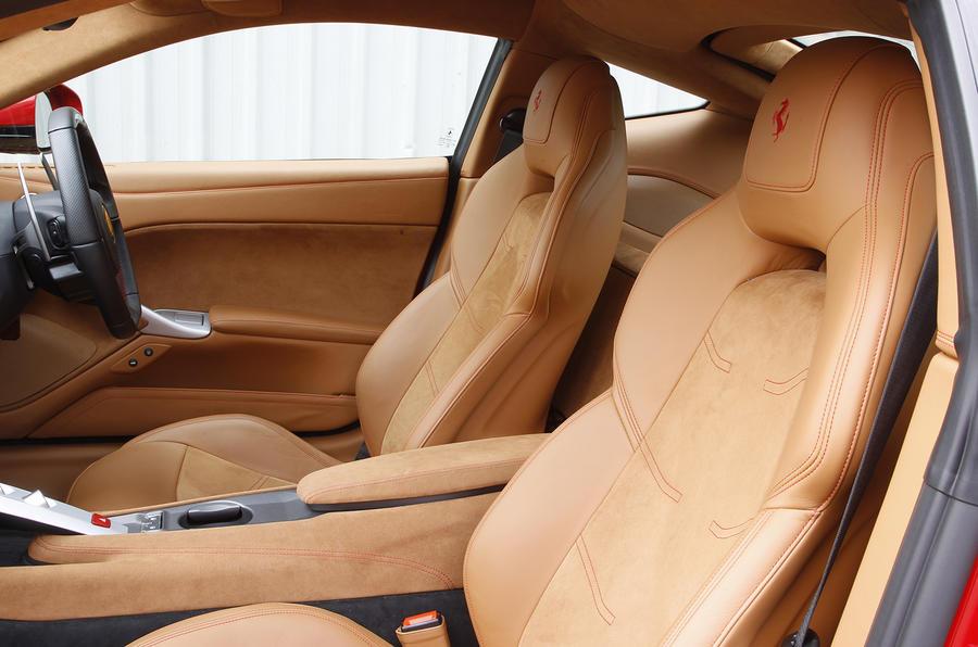 Ferrari F12 Berlinetta sport seats