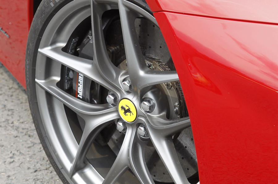 Ferrari F12 Berlinetta alloy wheels
