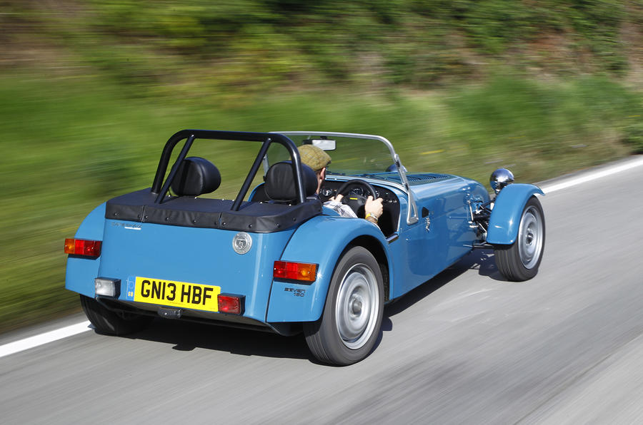 Caterham Seven 160 rear quarters