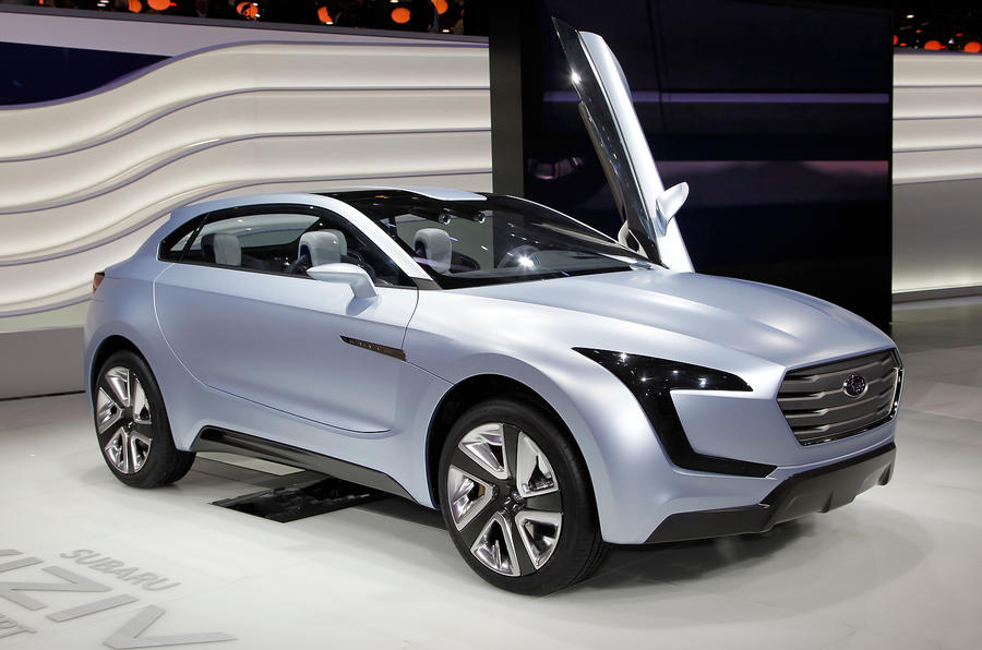 Latest Subaru Viziv concept for Geneva reveal