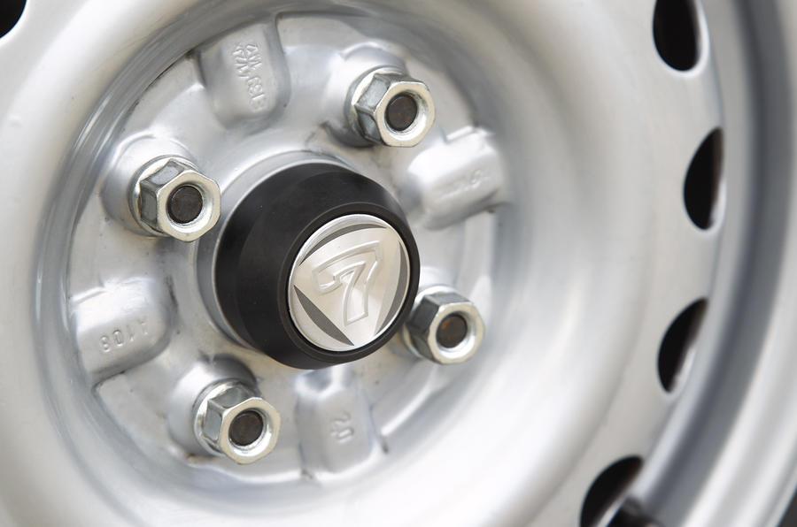 14in Caterham 160 steel wheels