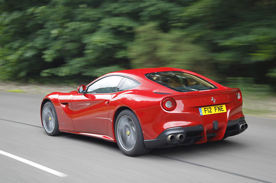 Ferrari F12 Berlinetta rear quarter