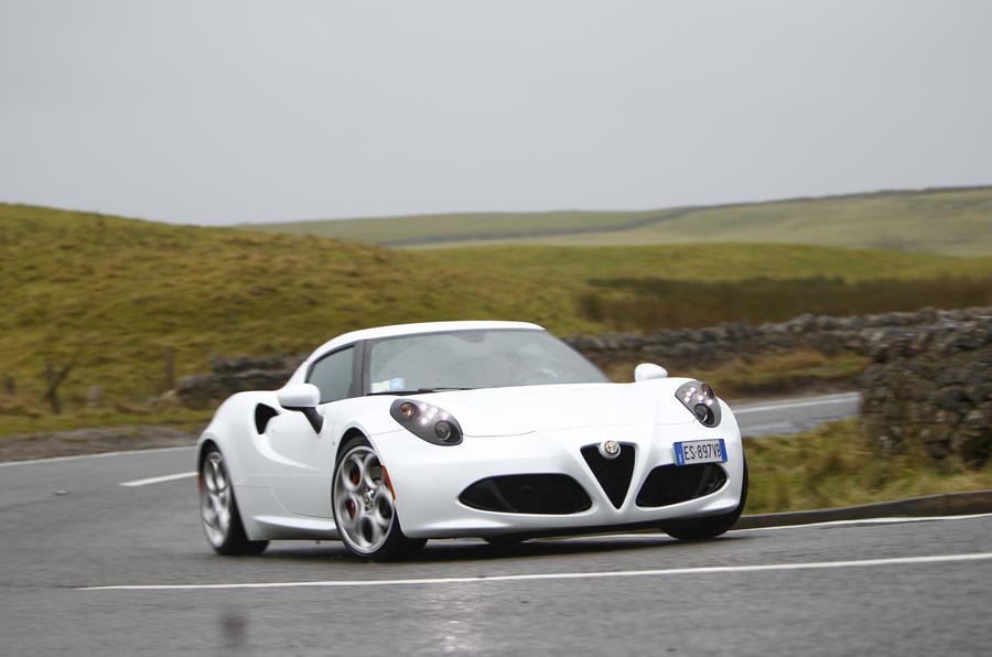 Alfa Romeo 4C UK first drive review