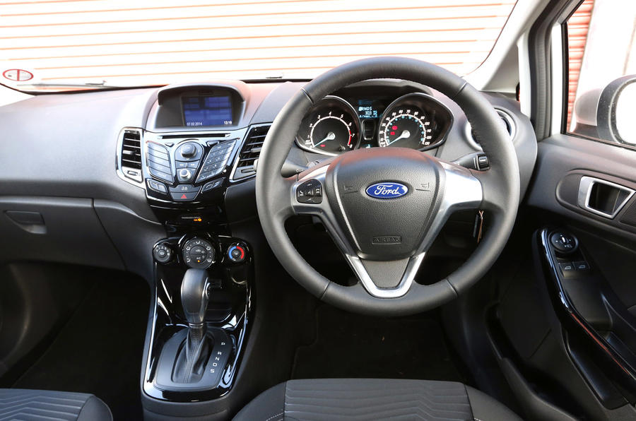 ford fiesta zetec 1 0t ecoboost powershift first drive. Black Bedroom Furniture Sets. Home Design Ideas