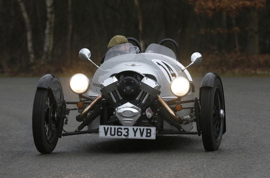 £31,140 Morgan Three Wheeler