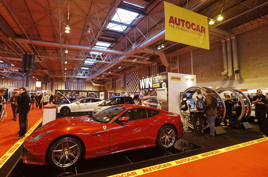 Autocar to headline Performance Car Show with supercar display
