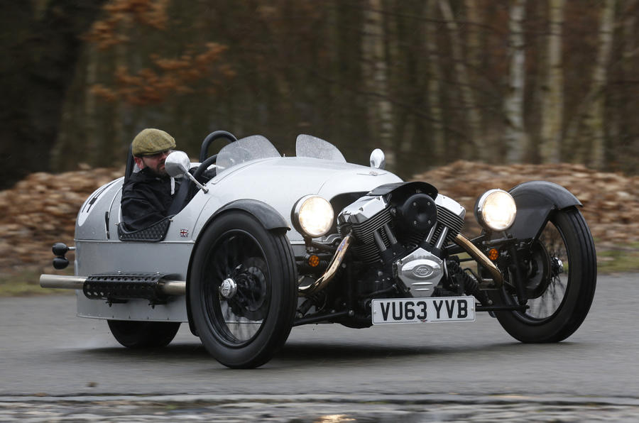 2014 Morgan Three Wheeler first drive review