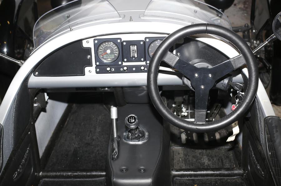 Morgan Three Wheeler dashboard