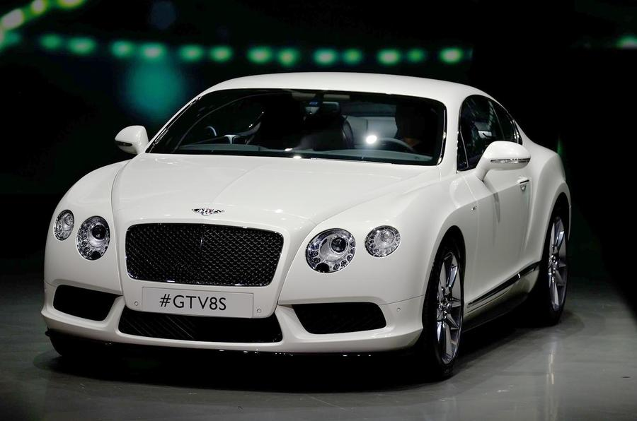 Bentley Continental GT V8 S shown