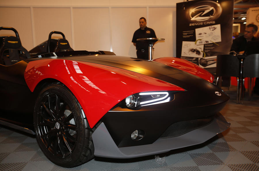 Zenos E10 revealed at Autosport International