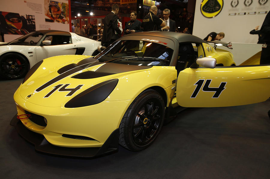 Lotus Elise S Cup R ready for Autosport International debut