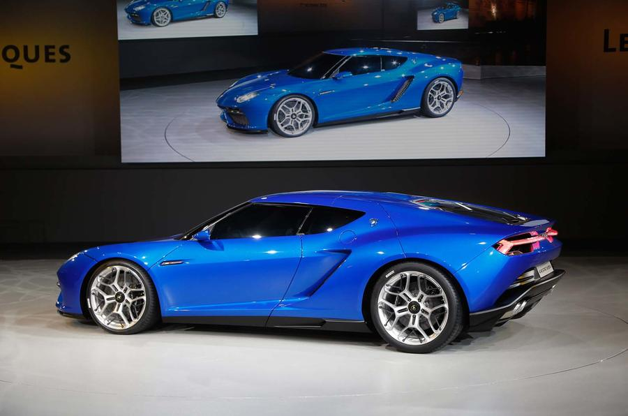 Lamborghini showcases new Asterion hybrid coupe concept