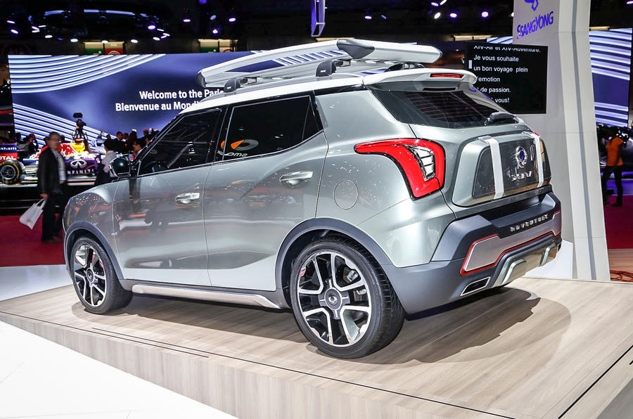 SsangYong previews new XIV crossover with Paris motor show concepts