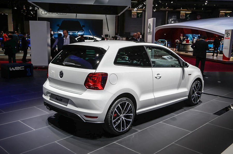 Volkswagen shows off go-faster Polo GTI