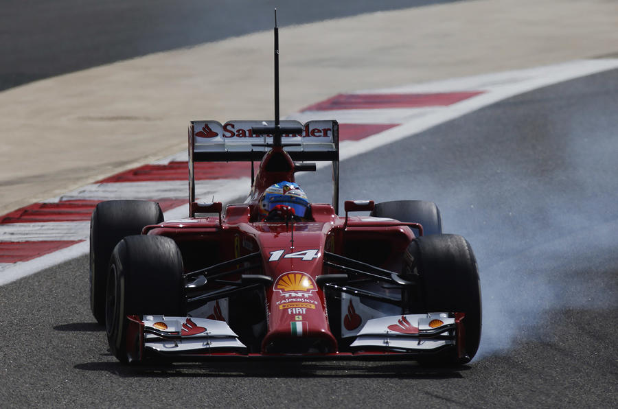 Formula One 2014 Bahrain testing report and gallery