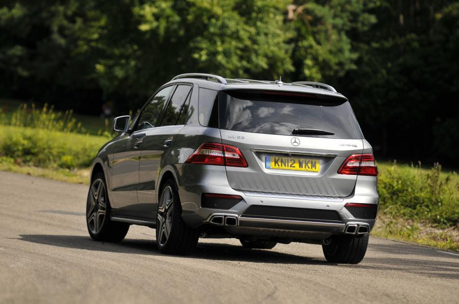 Mercedes-AMG ML 63 rear